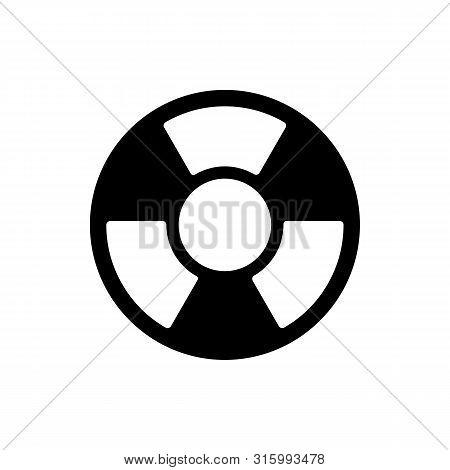Radioactive Icon Isolated On White Background. Radioactive Icon Simple Sign. Radioactive Icon Trendy