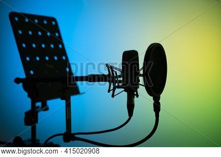 Voiceover Studio Microphone