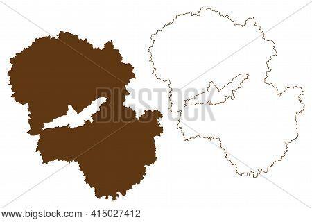 Landshut District (federal Republic Of Germany, Rural District Lower Bavaria, Free State Of Bavaria)