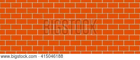 Subway Tile Background. Brick Seamless Patter For Kitchen Backsplash, Bathroom Wall, Shower. Vector