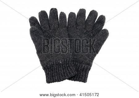 woolen winter gloves