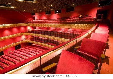 Interior Famous National Theater Nicaragua Teatro Ruben Dario