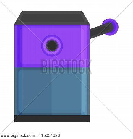 Sharpener Vector Icon.cartoon Vector Icon Isolated On White Background Sharpener.