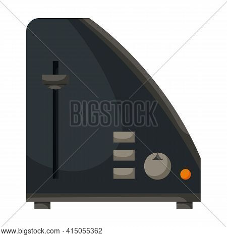 Toaster Vector Icon.cartoon Vector Icon Isolated On White Background Toaster.