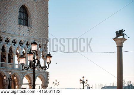 St Mark's Campanile in Venice, ITALY