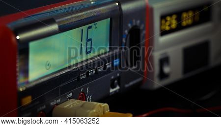electronic measuring instruments. measuring instruments in lab