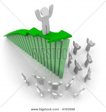 Riding The Growth Arrow - Teamwork