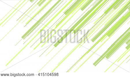 Green abstract lines technology futuristic background