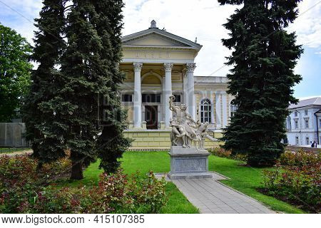 Sculptural Group Laocoon To The Archaeological Museum, Odessa, Statue Of Laocoon And His Sons, Calle
