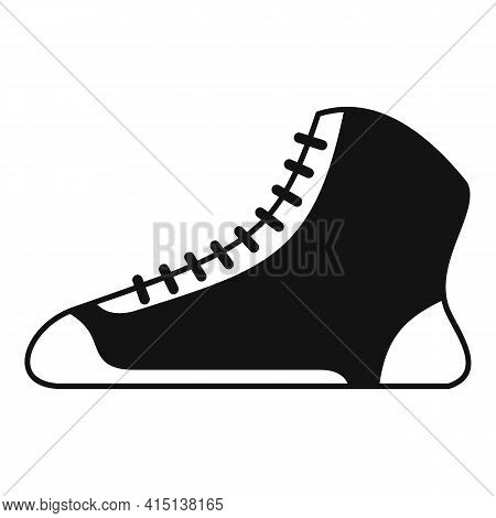 Greco-roman Wrestling Shoes Icon. Simple Illustration Of Greco-roman Wrestling Shoes Vector Icon For