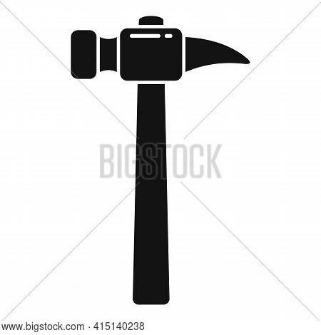 Home Hammer Icon. Simple Illustration Of Home Hammer Vector Icon For Web Design Isolated On White Ba