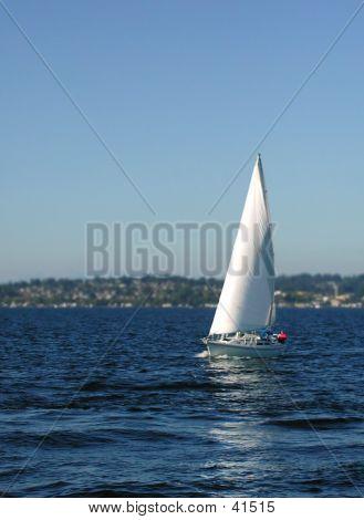 Sailing Lake Washington