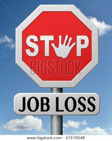 stop job loss creating new jobs