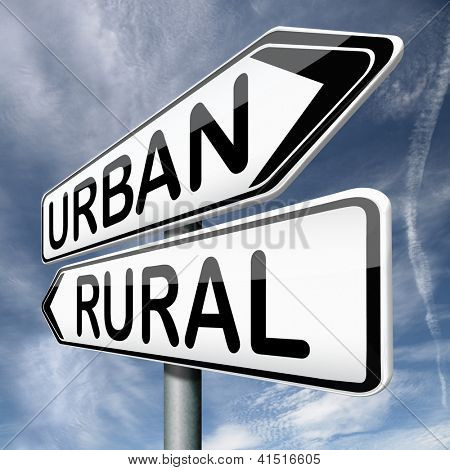 urban or rural urbanization regional planning
