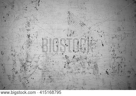 Vignette For Cement Wall Background Abstract Grey Concrete Texture For Interior Design. White Grunge