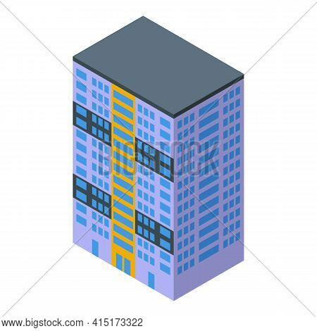 Apartment Rent Icon. Isometric Of Apartment Rent Vector Icon For Web Design Isolated On White Backgr