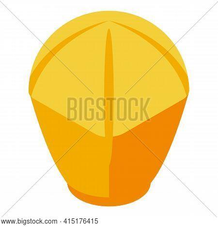 Culture Floating Lantern Icon. Isometric Of Culture Floating Lantern Vector Icon For Web Design Isol