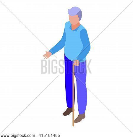 Elder Inheritance Icon. Isometric Of Elder Inheritance Vector Icon For Web Design Isolated On White