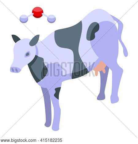 Gmo Milk Icon. Isometric Of Gmo Milk Vector Icon For Web Design Isolated On White Background