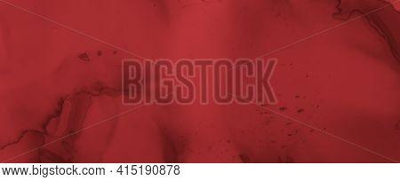 Grungy Blood Background. Rose Fluid Wallpaper. Halloween Splatter Black. Watercolour Bloody Texture.