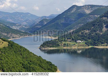 Amazing View Of Arda River Meander And Kardzhali Reservoir, Bulgaria