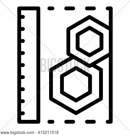Technical Details Icon. Outline Technical Details Vector Icon For Web Design Isolated On White Backg