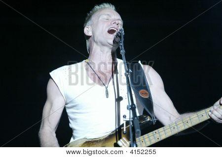 Sting Of The Police Singing At Bonnaroo