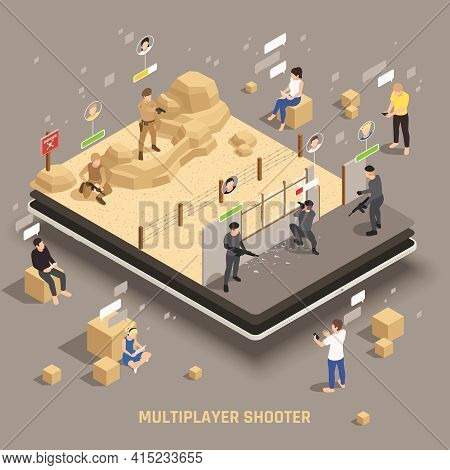 Mobile Gaming Extra Weapon Equipment Multiplayer Apps Players Controlling Special Operations Fire Te