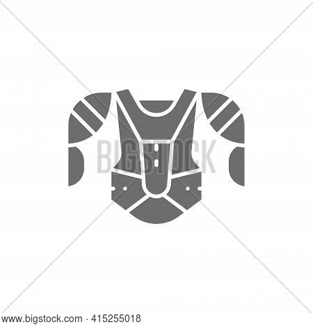 Hockey Uniform, Sports Sweater, Sweatshirt Gray Icon.