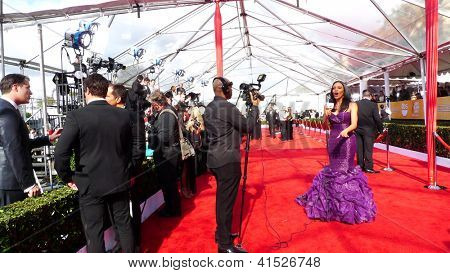 LOS ANGELES - JAN 27: Atmosphere at the 19th Annual Screen Actors Guild Awards held at The Shrine Auditorium on January 27, 2013 in Los Angeles, California