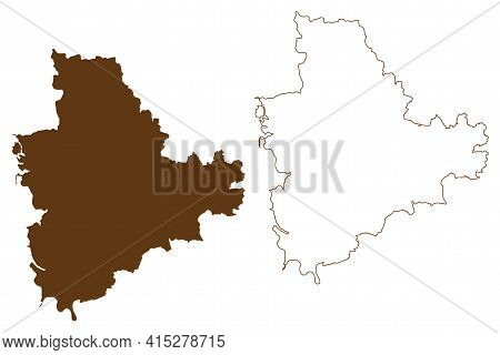 Main-spessart District (federal Republic Of Germany, Rural District Lower Franconia, Free State Of B