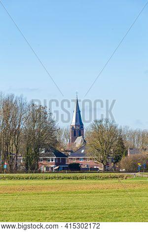 Townscape Werkhoven In Utrecht In The Netherlands