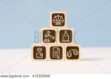 Concept Of The Structure Of The Law And The Judiciary.