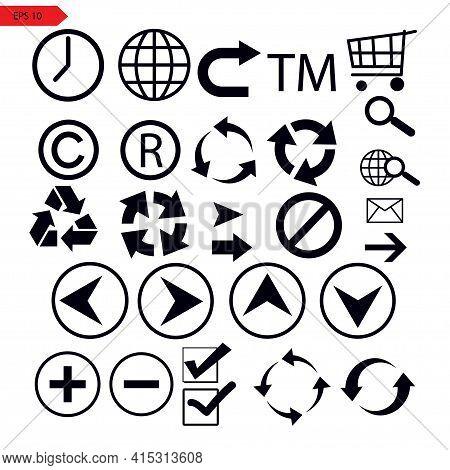 Set Of Vector Arrows. Arrow Icons. Arrow Vector Icon. Arrow. Arrows Vector Collection