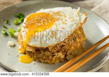 Homemade Potsticker Fried Rice