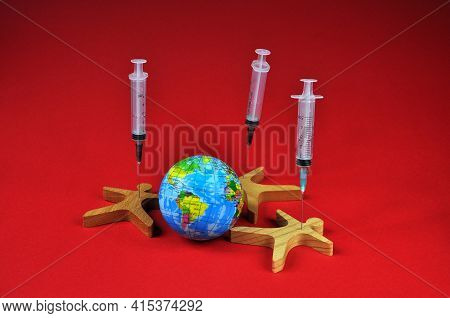Vaccination Against The Coronavirus Of The Globe