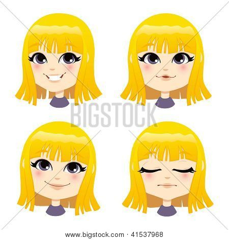 Sweet Blond Girl