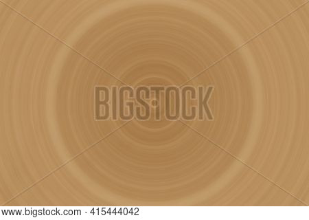 Twirl Of Bright Gold Color Abstract Background Texture In Full Frame Format