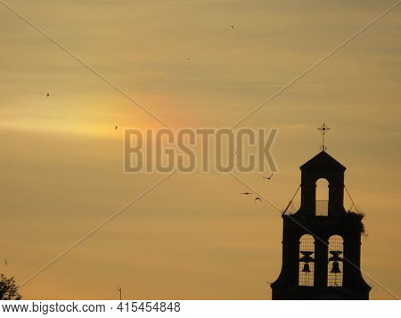 Hermitage Horizon Religion Bells Sky Pretty Cross