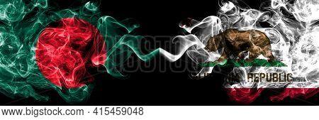 Bangladesh, Bangladeshi Vs United States Of America, America, Us, Usa, American, California, Califor