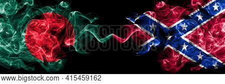 Bangladesh, Bangladeshi Vs United States Of America, America, Us, Usa, American, Confederate Navy Ja