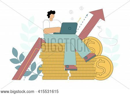 Successful Business. Enrichment, Multiplication Of Money. Financial Success, Consulting, Investing