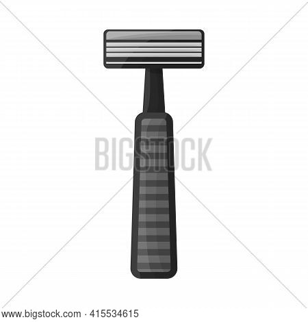 Isolated Object Of Shaver And Safety Icon. Web Element Of Shaver And Shave Vector Icon For Stock.