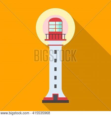 Beacon Vector Icon.flat Vector Icon Isolated On White Background Beacon.