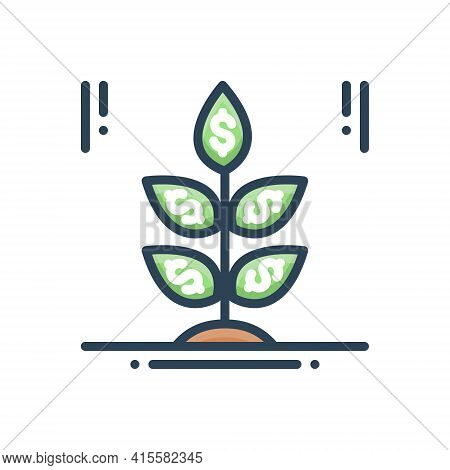 Color Illustration Icon For Business-startup Business Startup Creative Colleagues Employee Entrepren