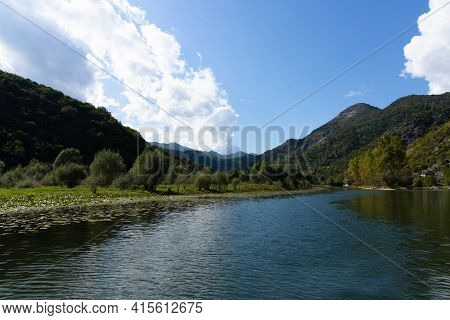 River Crnoevich Is A City In Montenegro On The River Of The Same Name Or The Black River, Not Far Fr