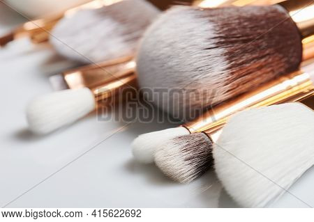 Heads Of Make Up Brushes