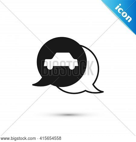 Grey Car Service Icon Isolated On White Background. Auto Mechanic Service. Repair Service Auto Mecha