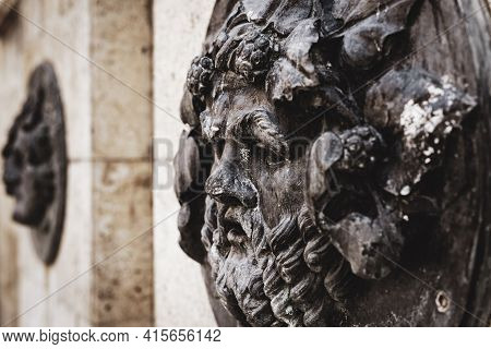 Greco Roman Style Font\nclassic Style Statue Representing A God