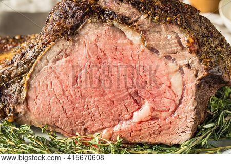 Homemade Prime Rib Beef Roast